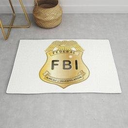 FBI Badge Rug