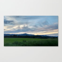 A photo of Mt Greylock in Cheshire MA Canvas Print