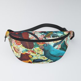 FLORAL AND BIRDS XV Fanny Pack