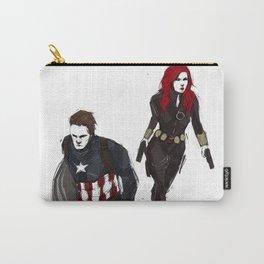Bucky!Cap & Black Widow Carry-All Pouch