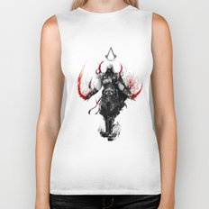 assassin's creed ezio Biker Tank