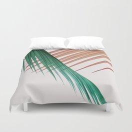 Palm Leaves, Tropical Plant Duvet Cover