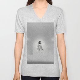 White Room Unisex V-Neck