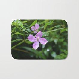 Little Purple Flower, Hawaii Bath Mat