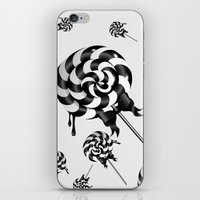 goth iPhone & iPod Skins featuring Goth Lollies by All Is One