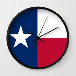 Texas Flag Lone Star Flag Wall Clock