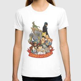Comics are Cool! T-shirt