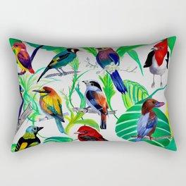 Birds, birds, birds.... Rectangular Pillow