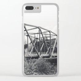 Mount Si Bridge Clear iPhone Case