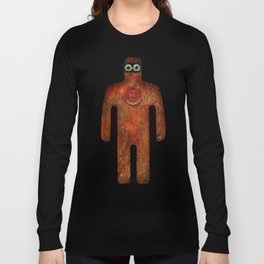 Rust Man - Steampunk Super Hero Long Sleeve T-shirt