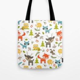 woodland animals Tote Bag