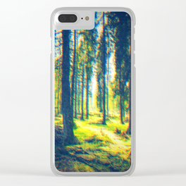 Wandering Clear iPhone Case