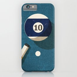 BILLIARDS / Ball 10 iPhone Case