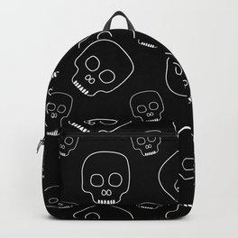Skull pattern (black) Backpack