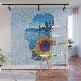 Lake Tahoe Sunflower Wall Mural