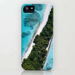 Maldivian long island iPhone Case