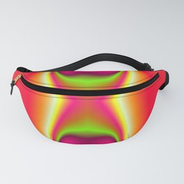 Aether Butterfly Abstract Fanny Pack