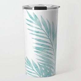 Palm Leaves Island Paradise Travel Mug