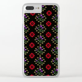 Silvia Clear iPhone Case