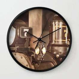 """#7 Locomotive"" by Murray Bolesta! Wall Clock"