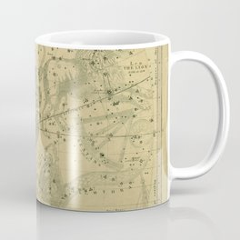 Atlas, Designed to Illustrate the Geography of the Heavens, plate IV (1850) Coffee Mug