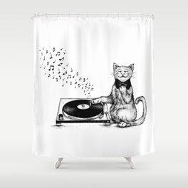 Music Master Shower Curtain