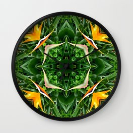 Patterned Perspective  Wall Clock