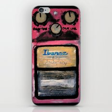 Ibanez AD-9 Analog Delay Guitar Pedal Acrylic Painting  iPhone Skin