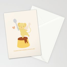 Purin Pudding Stationery Cards