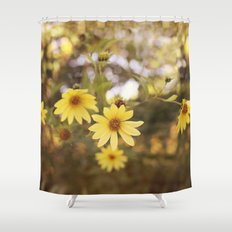 Five Flowers Shower Curtain