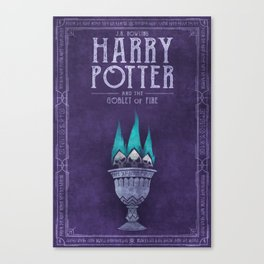 HP Book 4 (Book Cover) Canvas Print
