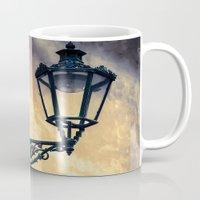 lantern Mugs featuring Lantern by Maria Heyens