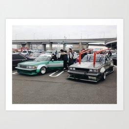 Bosozoku Art Print