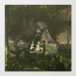Sleepytime Forest Canvas Print