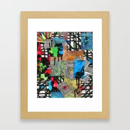 Craze Framed Art Print