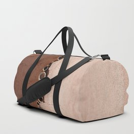 rotated rustic roof Duffle Bag