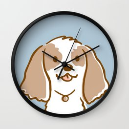 Cocker Spaniel Cartoon Dog Wall Clock