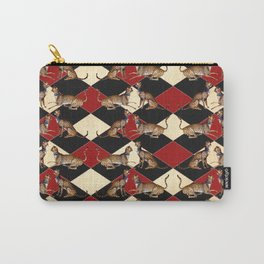 De Grassi Cheetah Pattern II Carry-All Pouch