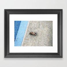 Panamá - Piscina Framed Art Print