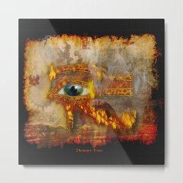 Desert Fire - Eye of Horus Metal Print