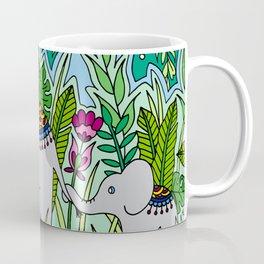 Elephant Mother and Baby Coffee Mug