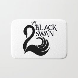 The Black Swan Bath Mat