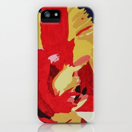 Parrot Tulip Abstract iPhone Case