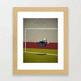 Renè Higuita Framed Art Print
