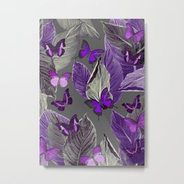 Butterfly Jungle Delight #2 #tropical #decor #art #society6 Metal Print