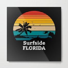 Surfside FLORIDA Metal Print