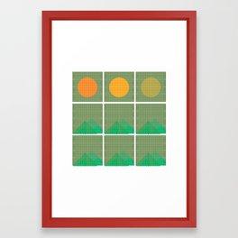 IT'S ALMOST SPRING Framed Art Print