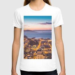 Coit Tower Alcatraz T-shirt