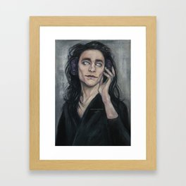 One Hel Of A Headache Framed Art Print