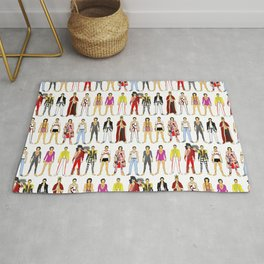 Champions Line Up Rug